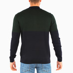 Adorjan Wool Sweater // Dark Green (M)