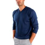 Pietro Wool Sweater // Indigo (XL)