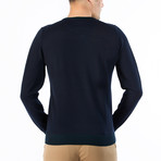 Giotto Wool Sweater // Navy Blue (S)