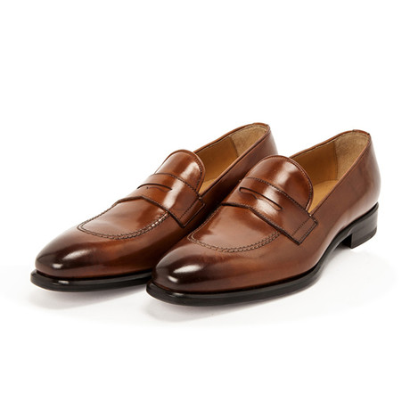 Picasso Penny Loafer // Antique Maroon (UK: 7)