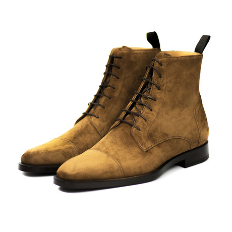 Pierre Boot // Cacao Suede (UK: 7)