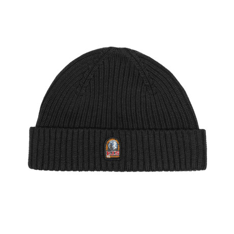 Parajumpers // Women's Rib Hat // Black (S-M)