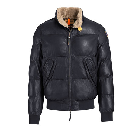 Men's Kristof Leather Jacket // Black (S)