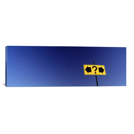 """Highway Sign // Panoramic Images (36""""W x 12""""H x 0.75""""D)"""