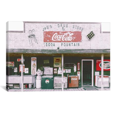 "Coca Cola Shop Red // Pixy Paper (18""W x 12""H x 0.75""D)"