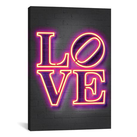 "Love // Octavian Mielu (12""W x 18""H x 0.75""D)"
