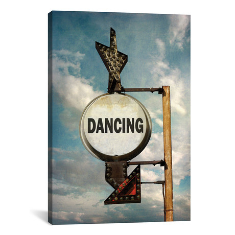"Dancing // Honeymoon Hotel (12""W x 18""H x 0.75""D)"