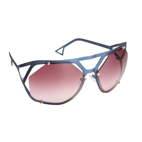 Unisex RAF4A Sunglasses // Dark Blue