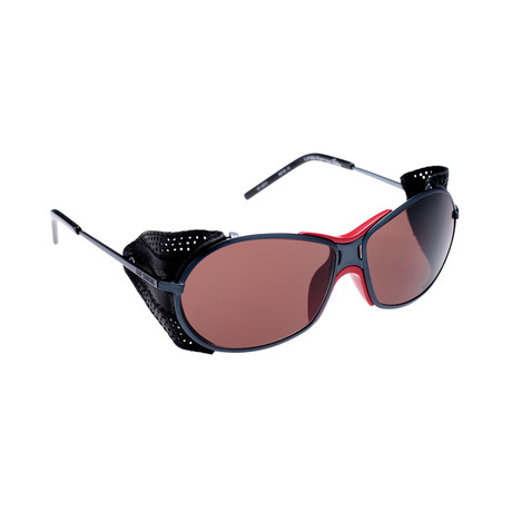 Unisex RAF3B Sports Wrap Sunglasses // Anthracite