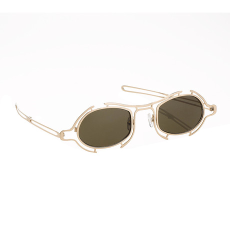 Unisex RAF13C3 Sunglasses // Shiny Gold
