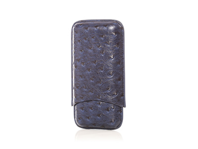 photo of Keep it Fresh Cigar Holder Triple (Blue Ostrich) by Touch Of Modern