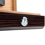 Lorenzo Cigar Humidor (Ebony Wood)