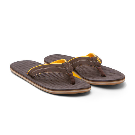 Brazos Flip Flops // Brown (US: 8)