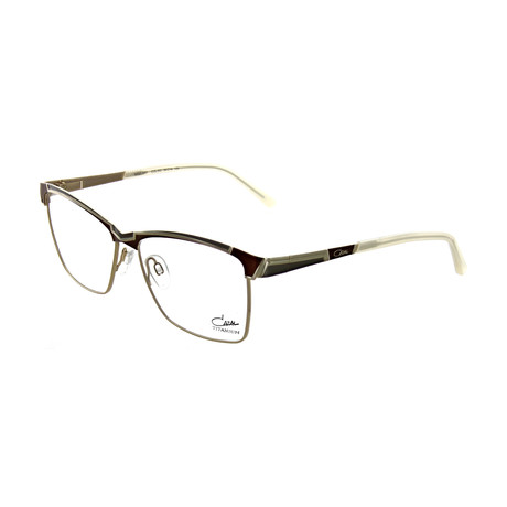 Cazal // Unisex Square Optical Frames // Nougat II