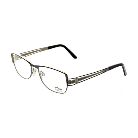 Cazal // Unisex Square Optical Frames // Matte Black + Gray
