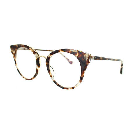 Dita // Women's Round Optical Frames // Cream Tortoise