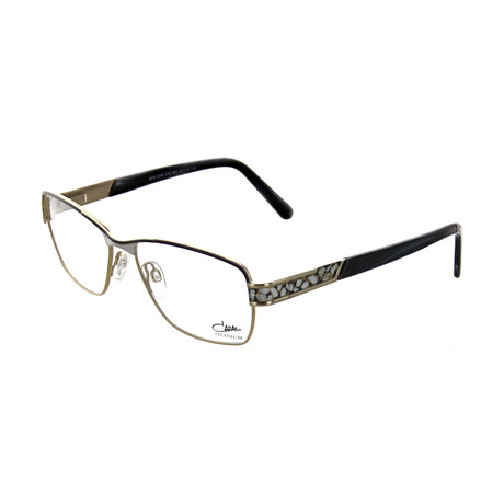 Cazal // Women's Square Optical Frames // Gray