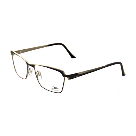 Cazal // Unisex Square Optical Frames // Nougat