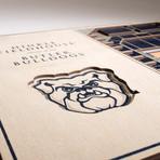 Butler Bulldogs // 5 Layer Wall Art