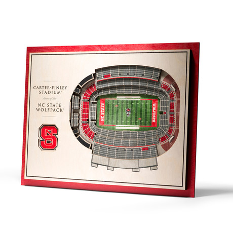NC State Wolfpack // 5 Layer Wall Art