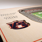 Auburn Tigers Wall Art (25 Layer)