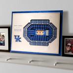 Kentucky Wildcats // 5 Layer Wall Art