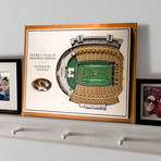 Missouri Tigers // 5 Layer Wall Art