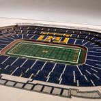 Michigan Wolverines Wall Art (25 Layer)