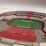 Texas Tech Red Raiders Wall Art (5 Layer)