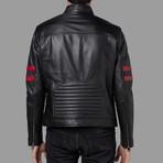 Jayden Leather Jacket // Black (3XL)