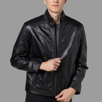 Sebastian Leather Jacket // Black (M)