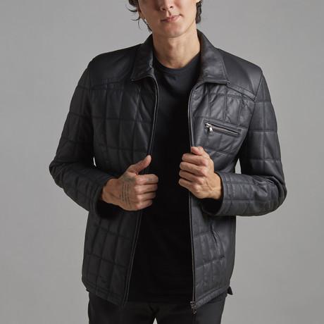 Austin Leather Jacket // Black (Euro: 46)