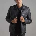 Austin Leather Jacket // Black (2XL)