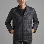 Austin Leather Jacket // Black (4XL)