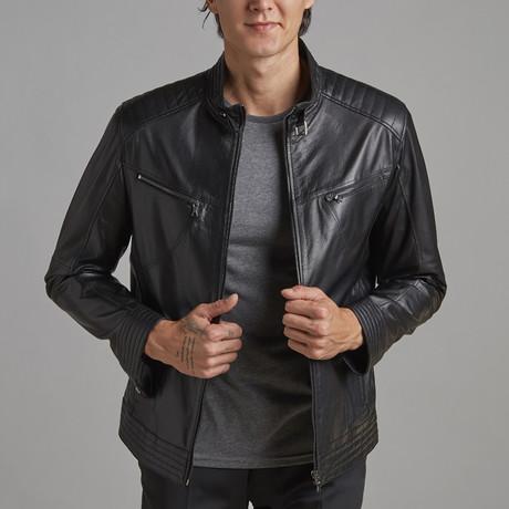 Elijah Leather Jacket // Black (Euro: 46)