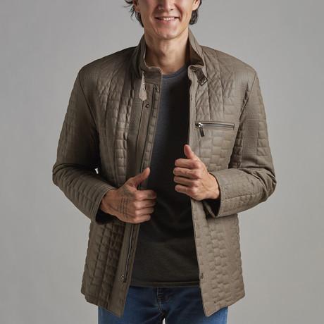 Luke Leather Jacket // Mink (Euro: 46)