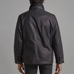 Elias Leather Jacket // Black (S)
