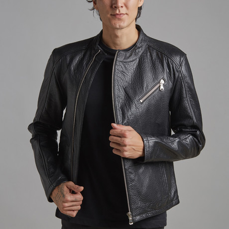 James Leather Jacket // Black (XS)