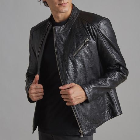 James Leather Jacket // Black (Euro: 46)