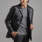 Jackson Leather Jacket // Black (M)