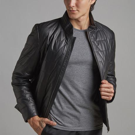 Josiah Leather Jacket // Black (Euro: 46)