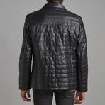 Charles Leather Jacket // Black (3XL)