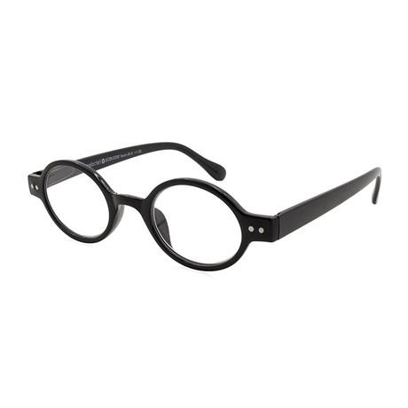 Men's Remi Readers // Shiny Black (1.00x)