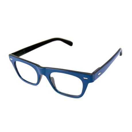 Men's Lyon Blue Readers // Blue // 1.00x