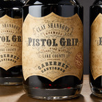 Pistol Grip Cabernet Sauvignon // Set of 4