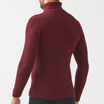 Ethan Tricot Jumper // Claret Red (XL)