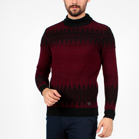 Andrew Tricot Jumper // Black (S)