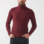Ethan Tricot Jumper // Claret Red (L)
