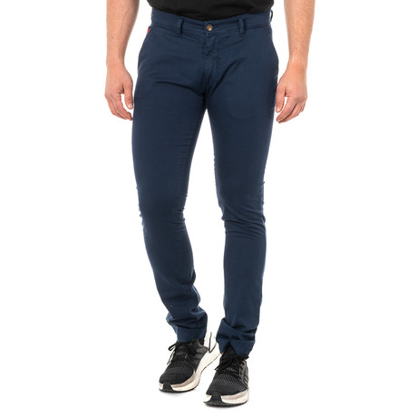 Cole Stretch Trousers // Navy Blue (30)