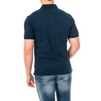Chandler Short Sleeve Polo Shirt // Navy Blue (X-Small)